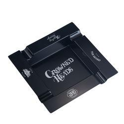 Crowned Heads Melamine Ashtray - AT-C4K-MELBLK - 400