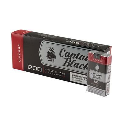 Captain Black Little Cigars Cherry 10/20 - CI-CBF-CHERRY - 400