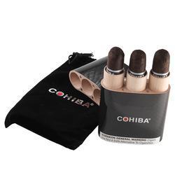 Cohiba Black Travel Case Gigante 3 Pack - CI-CBL-3CASE - 400