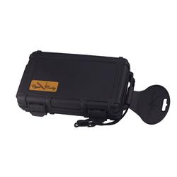Cigar Caddy 3400-XL Black Big Ring Gauge Travel Case - HU-CCA-5XLBLK - 400