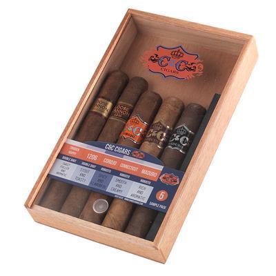 C&C 5 Cigar Sampler - CI-CCM-5SAM - 400