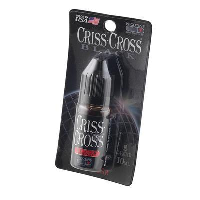 Criss-Cross E-Juice 2.4% 10ml Regular Black - EJ-CCV-BLKPKZ - 400
