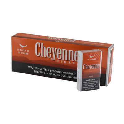 Cheyenne Peach Flavor 100's 10/20 - CI-CHY-PEACH - 400