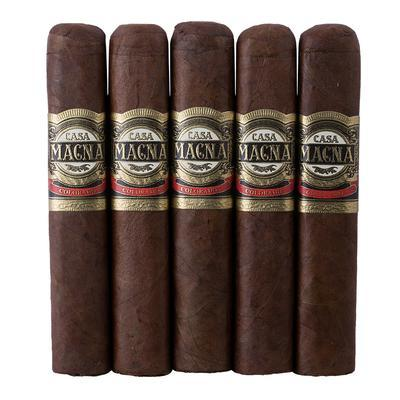 Casa Magna Colorado Box Pressed Short Robusto 5 Pack - CI-CMG-SROBN5PK - 400
