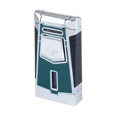 Colibri Empire Green Single Flame Torch Cigar Lighter-LG-COL-EMPGRN - 400