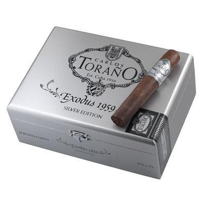 Carlos Torano Exodus 1959 Silver Robusto Corto - CI-CTS-ROBN - 400