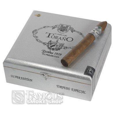 Carlos Torano Exodus 1959 Silver Torpedo - CI-CTS-TORPN - 400
