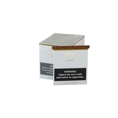 Mini Cigarillo Gold 10/10-CI-DAV-MIN10 - 400