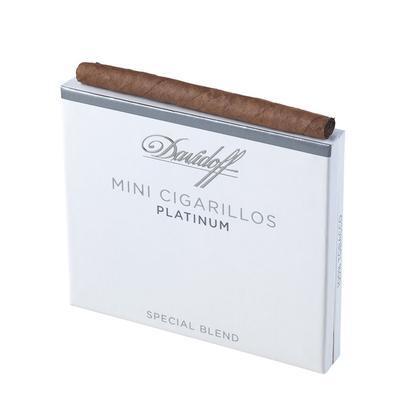 Davidoff Mini Cigarillos Platinum (10) - CI-DAV-MINP10Z - 400