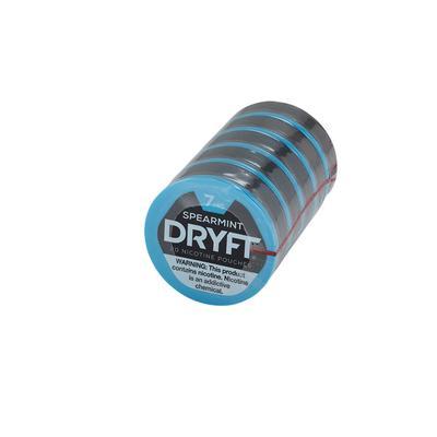 Dryft Spearmint 7MG (5 Tins)-NP-DFT-SPR7MG - 400