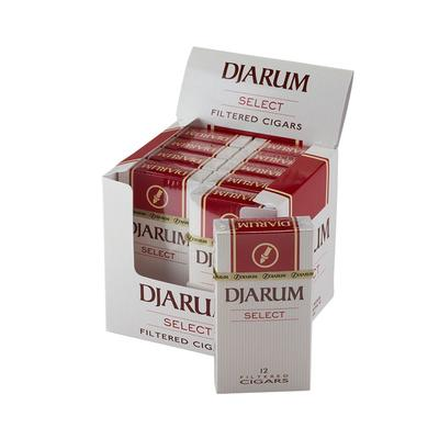 Djarum Select Filtered Cigar 10/12-CI-DJM-MILDPK - 400