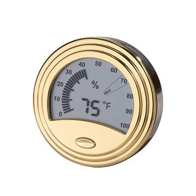 Analog Style Gold Digital Hygrometer - HY-DON-1539 - 400
