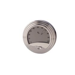 Analog Style Silver Digital Hygrometer - HY-DON-1539S - 400