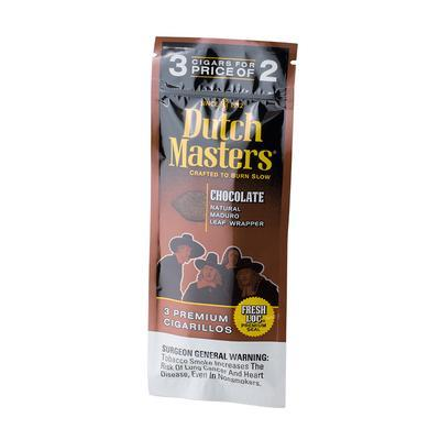 Dutch Masters Cigarillos Chocolate (3) - CI-DUC-CHOCMZ - 400