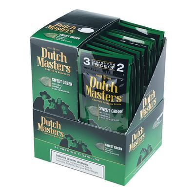 Dutch Masters Cigarillos Sweet Green 20/3 - CI-DUC-SWTGRN - 400