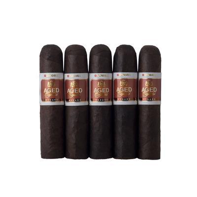 Dunhill Aged Maduro Short Robusto 5 Pack - CI-DUN-SROBM5PK - 400