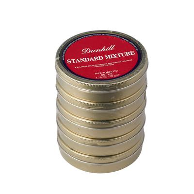 Dunhill Standard Mix 5 Pack 50 Gram Tin - TC-DUN-STDMIX - 400