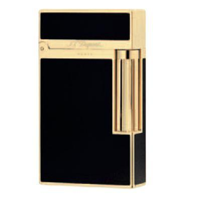 S.T. Dupont Ligne 2 China Lacquer Black with Yellow Gold - LG-DUP-16884 - 400