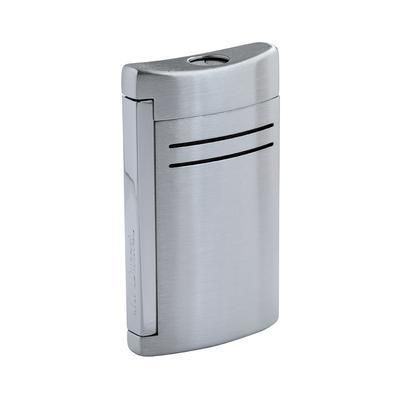 S.T. Dupont Maxijet Brushed Chrome Lighter - LG-DUP-20144N - 400
