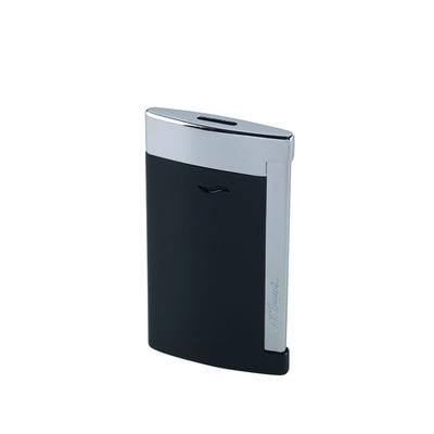 S.T. Dupont Slim 7 Black Lacquer Lighter - LG-DUP-SLIM00 - 75