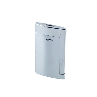 S.T. Dupont Slim 7 Brushed Chrome Lighter - LG-DUP-SLIM01 - 400