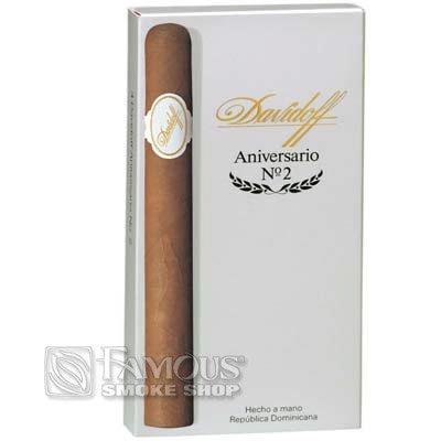 Davidoff Aniversario No. 2 4 Pack - CI-DVA-2NPK - 400