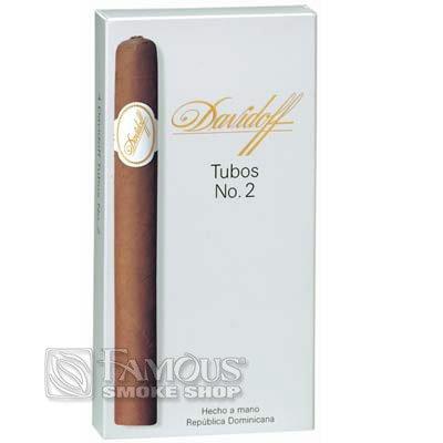 Davidoff Classic Series No. 2 Tubos (4) - CI-DVC-2TNPK - 400