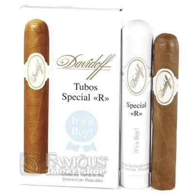 Davidoff Special R Tubos - Its A Boy (3) - CI-DVS-SRTB3PK - 400