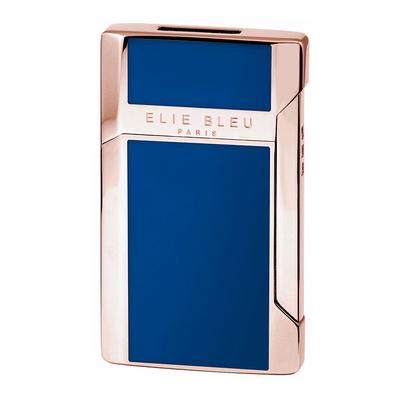 Elie Bleu J-12 Plano Jet Flame Lighter Collection Blue - LG-EBS-J12BLUE - 400