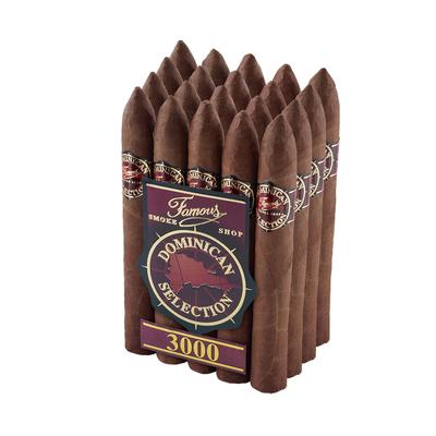 Famous Dominican Selection 3000 Belicoso - CI-FD3-BELN - 400