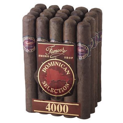 Famous Dominican Selection 4000 Corona - CI-FD4-CORM20 - 400