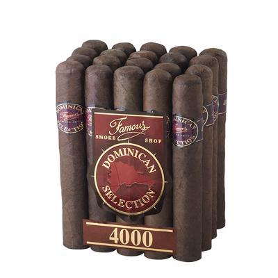 Famous Dominican Selection 4000 Robusto - CI-FD4-ROBM20Z - 400