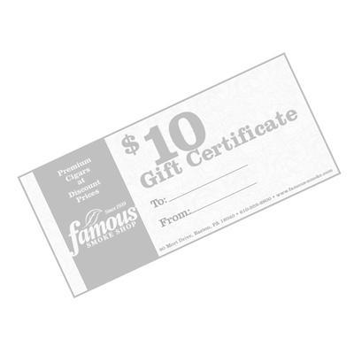 $10.00 Gift Certificate - GC-FGC-0010 - 400