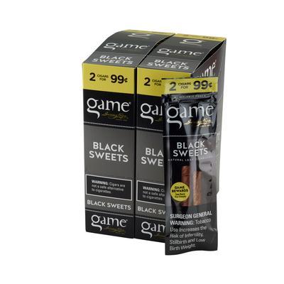 GyV Game Cigarillos Black 99cents - CI-GCI-BLKUP99 - 400