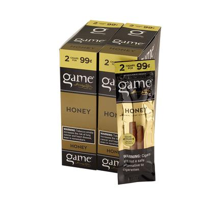 Garcia y Vega Game Cigarillos Honey 30/2 - CI-GCI-GOLUP99 - 400