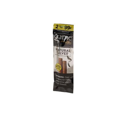 GyV Game Cigarillos Silver 99c - CI-GCI-SLVUP99Z - 400