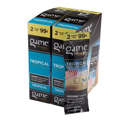 Garcia y Vega Game Cigarillos Tropical 30/2 - CI-GCI-TRO99 - 400