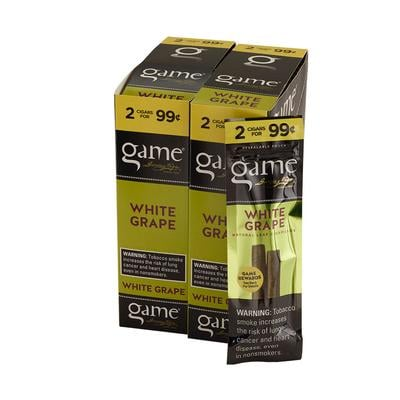 Garcia y Vega Game Cigarillos White Grape 30/2 - CI-GCI-WGUP99 - 400