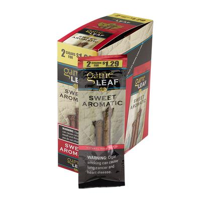 Garcia y Vega Game Leaf Cigarillos Sweet Aromatic $1.29 - CI-GCL-AROUP29 - 400