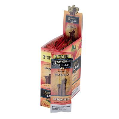 Garcia y Vega Game Leaf Cigarillos Mango 99c - CI-GCL-MAUP99 - 400