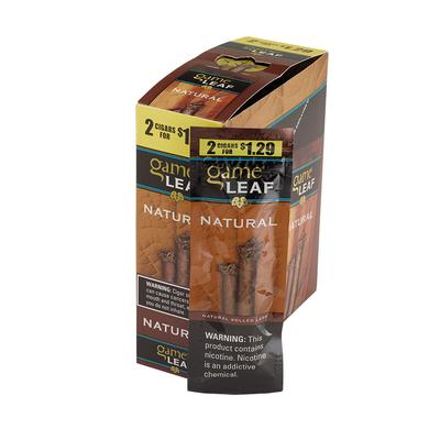 Garcia y Vega Game Leaf Cigarillos Natural $1.29 - CI-GCL-NATUP29 - 400