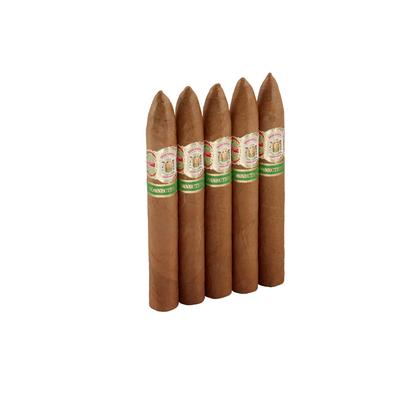 Gran Habano #1 Connecticut Pyramid 5 Pack - CI-GH1-PYRN5PK - 75