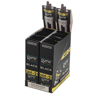 Garcia y Vega Game Cigarillos Black 60 - CI-GYG-CIBLK60 - 400