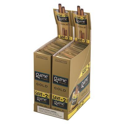 GyV Game Cigarillos Gold 60 - CI-GYG-CIGLD60 - 400