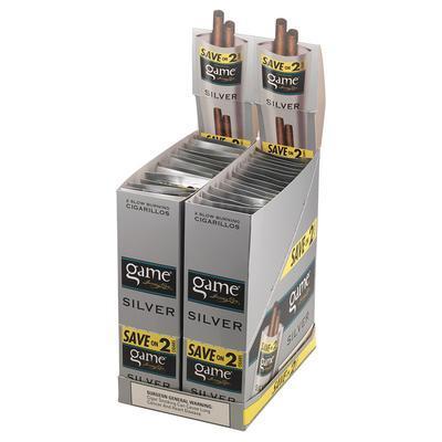 Garcia y Vega Game Cigarillos Silver 60 - CI-GYG-CISLV60 - 400