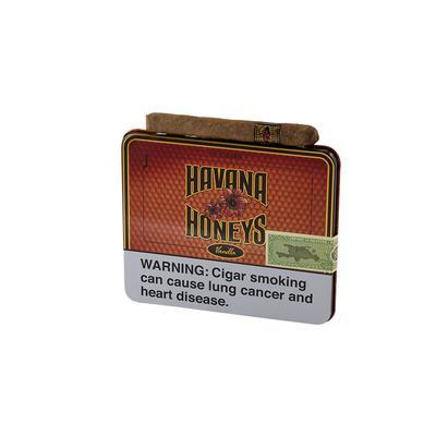 Havana Honeys Dominican Cigarillos Vanilla (10) - CI-HAH-TINVANZ - 400
