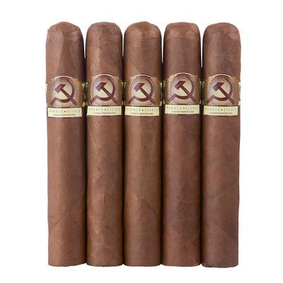 Hammer & Sickle Robusto 5 Pack - CI-HAS-ROBN5PK - 75