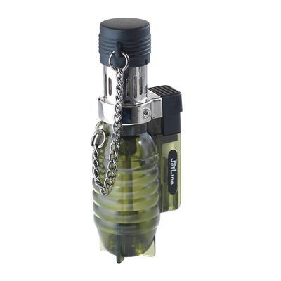 Jet Line Clear Torch Green Triple Flame Lighter - LG-JTL-47200GRN - 400