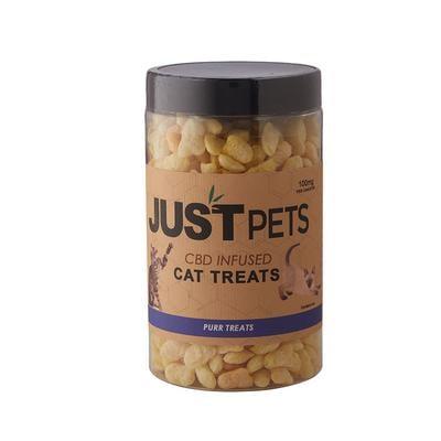 Just CBD Just Pets Cat Treats Purr 100mg - PT-JUS-CPURR