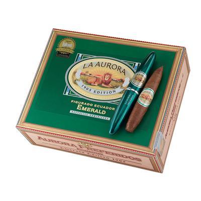 La Aurora Preferidos Emerald Ecuadorian Sungrown #2 Tubes - CI-LAE-2TN - 400